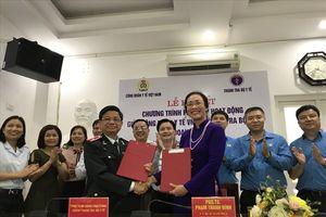 CĐ Y tế VN kí chương trình phối hợp hoạt động với Thanh tra Bộ Y tế