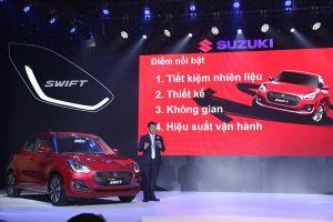 Suzuki ra mắt Swift 2018: Ấn tượng thiết kế, đột phá công nghệ