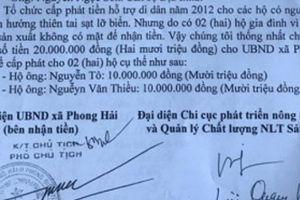 TT-Huế: Cựu chủ tịch xã bỏ ra nước ngoài 'ém' tiền hỗ trợ dân