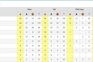 TP Hồ Chí Minh giành ngôi nhất toàn đoàn ở môn thể dục dụng cụ