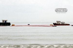 Khắc phục xong sự cố tàu chở dầu đâm vào cầu cảng tại Xí nghiệp xăng dầu Petec Hòa Hiệp Đà Nẵng