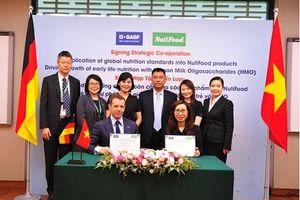 NutiFood hợp tác với tập đoàn hàng đầu về dinh dưỡng BASF