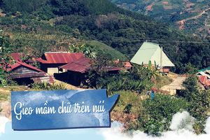 Gieo mầm chữ trên núi