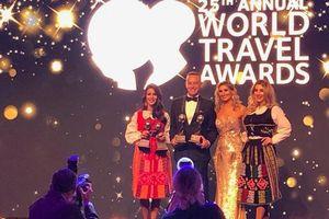 JW Marriott Phu Quoc Emerald Bay được trao 4 giải thưởng tại World Travel Awards 2018