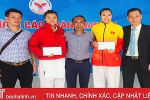 Karate Hà Tĩnh giành 4 huy chương ngày đầu thi đấu Đại hội TDTT toàn quốc