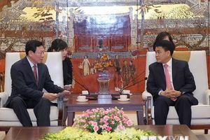 Tập đoàn Lotte nghiên cứu mở rộng đầu tư tại Hà Nội