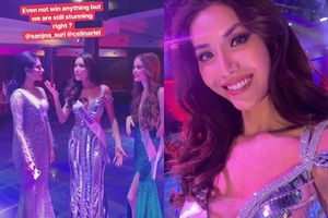 Tiếc nuối khi Minh Tú trượt hết giải phụ trong đêm bán kết Miss Supranational 2018