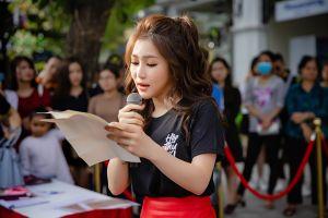 Khóc, cười cùng Hương Tràm trong ngày ra mắt 'Hộp thư số 1' tại Hà Nội