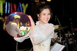 Clip: Đáng yêu như Hoàng Yến Chibi, âm thầm làm bánh mang đến offline sinh nhật tặng fan