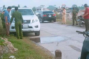 Tiết lộ nguyên nhân ban đầu vụ thượng úy công an tử vong ở Nam Định