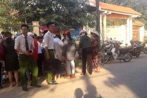 Thanh Hóa: Phát hiện thi thể trẻ sơ sinh tại cổng trường