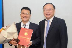 Trao quyết định bổ nhiệm ông Nguyễn Tuấn Quang giữ chức Phó Cục trưởng Cục Biến đổi khí hậu