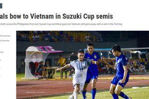 Báo chí Philippines thừa nhận tuyển Việt Nam khiến ĐT nước họ nể phục