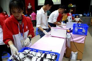 Cần khoảng 90.000 đơn vị máu để phục vụ nhu cầu cấp cứu và điều trị trong dịp Tết