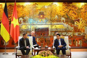 Tăng cường hợp tác giữa Hà Nội và Leipzig (CHLB Đức)