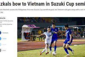 Báo chí Philippines thán phục đội tuyển Việt Nam