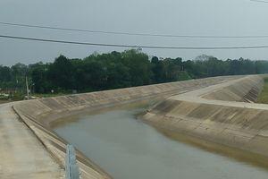 Hà Tĩnh: Nguy cơ tai nạn đuối nước trên công trình thủy lợi Ngàn Trươi – Cẩm Trang