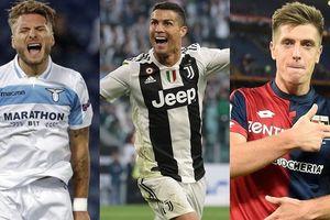 Cuộc đua 'vua phá lưới' Serie A 2018/2019: Ronaldo dẫn đầu