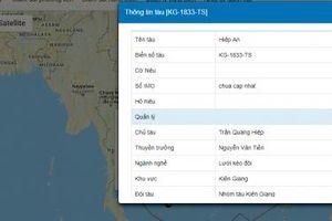 Ngư dân Kiên Giang đồng loạt sử dụng Hệ thống quản lý tàu thuyền VNPT-VSS