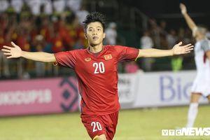 Phan Văn Đức: 'Đây là trận đấu hay nhất của đội tuyển Việt Nam'