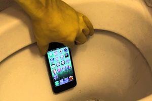 Nghiên cứu sốc: Điện thoại di động bẩn gấp 7 lần bồn cầu vệ sinh