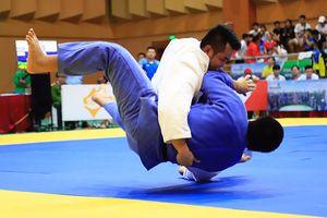 Judo nam TP Hồ Chí Minh tỏ ra vượt trội