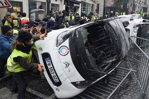 Biểu tình bạo động tại Pháp: 263 người bị thương, bắt giữ 378 đối tượng