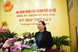 Phó Chủ tịch QH Tòng Thị Phóng: Xây dựng Thủ đô ngày càng giàu đẹp, văn minh
