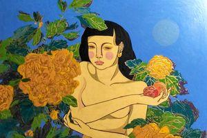 Triển lãm online và đấu giá tranh nude