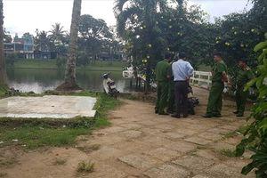 Phát hiện người đàn ông tử vong dưới hồ cùng hai vết thương