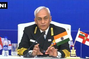 Hải quân Ấn Độ cảnh giác với Trung Quốc