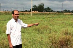 Quảng Trị: Dự án bồi lấp ruộng, 2 năm chưa đền bù cho dân
