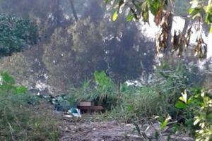 Thanh niên mặc áo GrabBike nghi bị sát hại ở Sài Gòn