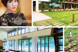 Công trình nhà gia đình ca sĩ Mỹ Linh tại Sóc Sơn xây vượt hơn 138m2