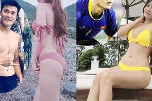 6 bóng hồng của cầu thủ Việt đá AFF Cup đọ sắc với áo tắm