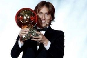 Luka Modric giành Quả bóng vàng - Ballon d'Or 2018