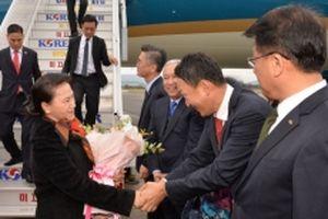 Chủ tịch Quốc hội Nguyễn Thị Kim Ngân tới Busan, bắt đầu thăm chính thức Hàn Quốc