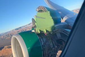 Hành khách hoảng loạn khi máy bay vừa cất cánh đã rơi mất nắp động cơ