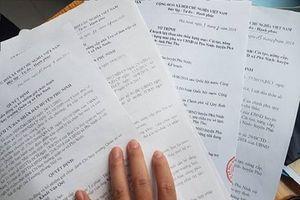 Phú Thọ: Hàng loạt thắc mắc của cử tri tại xã Phù Ninh cần được làm rõ