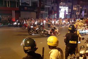 Lập 55 biên bản, tạm giữ 25 xe 'đi bão' mừng tuyển bóng đá Việt Nam