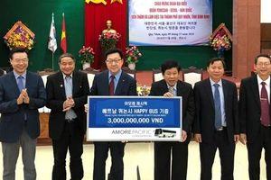 Amorepacific mang đến những giá trị tốt đẹp giúp nâng cao đời sống người Việt