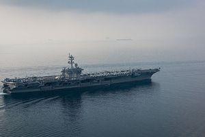 Mỹ điều hạm đội tàu sân bay đến vịnh Ba Tư sau động thái của Iran