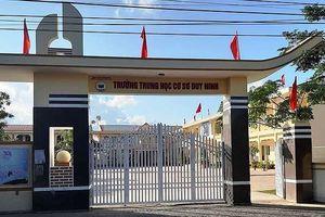 Bà Hiệu trưởng trường Duy Ninh đã tát cái 232 vào nền giáo dục