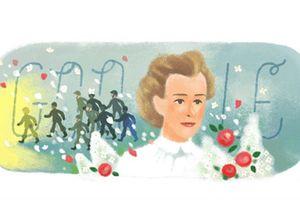 Chân dung nữ anh hùng được Google vinh danh trên trang chủ