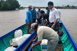 Cà Mau: Chìm tàu chở hàng, thiệt hại hơn 400 triệu đồng