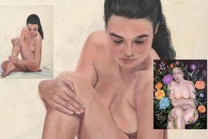 Triển lãm và đấu giá tranh khỏa thân 'táo bạo' trên mạng