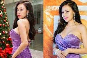 Vẫn biết là 'hàng giả' nhưng Bà Tưng ngày càng khiến người nhìn say mê với vòng 1 như muốn đâm thủng váy