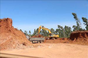 Bình Định: San phẳng cả đồi Hỏa Sơn khi chưa có giấy phép khai thác