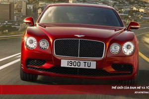 Sài Gòn chào đón Bentley Flying Spur V8 S đầu tiên về Việt Nam