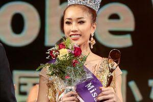 Người đẹp gốc Việt đại diện nước Anh giành vương miện tại Miss Globe 2018